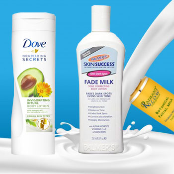 Moisturizing Milk and Lotions